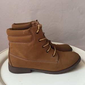 Madden Girl Suede Combat Boots